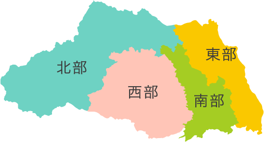 地域別MAP